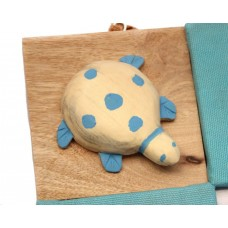 IVEI Pin board + whiteboard, Combination board Turtle - Blue