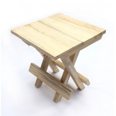 IVEI wooden portable folding table - medium (12in)