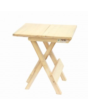 IVEI wooden portable folding table - large (16in)