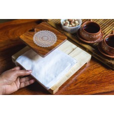 IVEI Mandala solid wood napkin holder - mandala