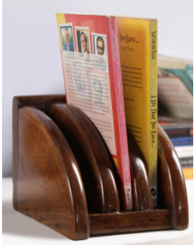 Solid Wood Stationery Holder