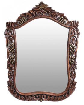 Wenge Solid Wood Mirror
