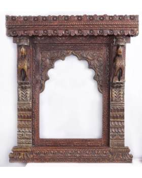 Solid Wood Rajputana Jharokha
