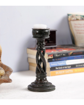 MINI SPIRAL CANDLESTAND(BROWN)