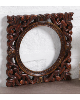 Brown Solidwood Photo Frame