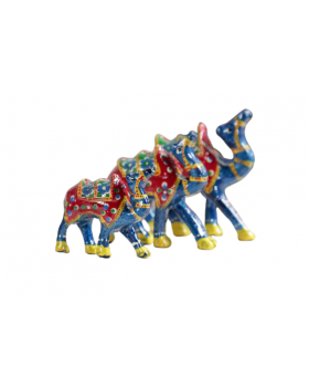 Multicolour Showpieces Set of 3