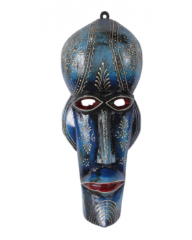 JODHPURI MASK BLUE