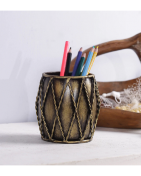 Multicolour Metal Pen Holder