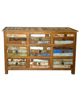 WOODEN 9 DRAWER  Cabinet