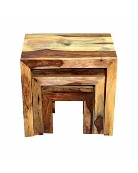 Wood 3 Pieces Stool
