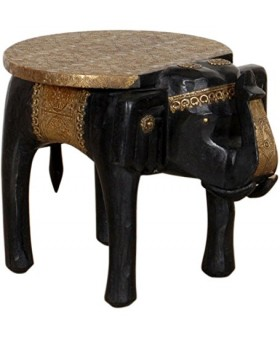 Wooden Elephant Coffee Table