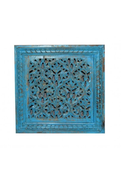Wooden carved jali panel
