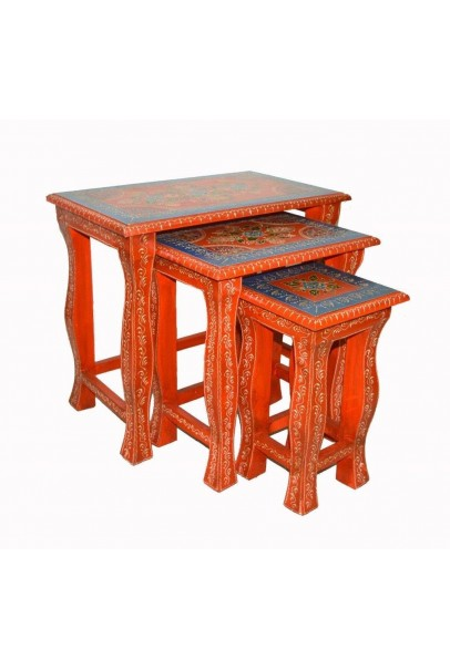 Wooden Stool 3pcs set