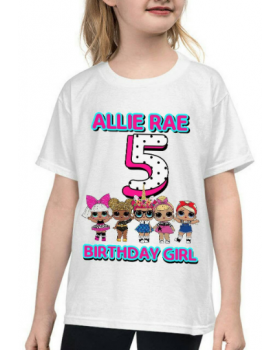 Personalized Name And Age, LOL Dollz SVG, LOL Dollz T-shirts Design,Printable, Digital Download, Iron on Transfer, Customized File, Jpg File