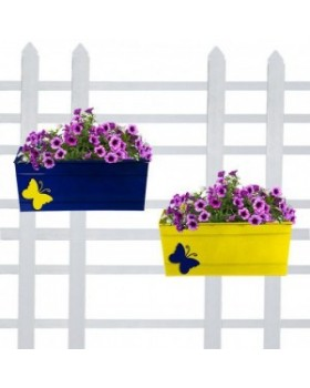 Butterfly Railing Planter