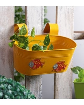 FISH RAILING PLANTER