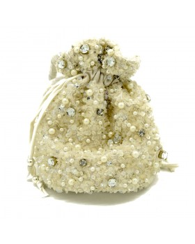Royal Beaded Potli Bag