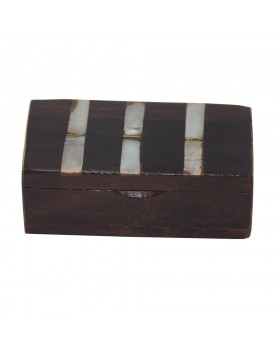 Wood Sheesham Shell Small Box