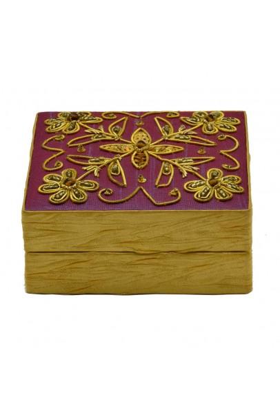 Beaded Jewelry Box