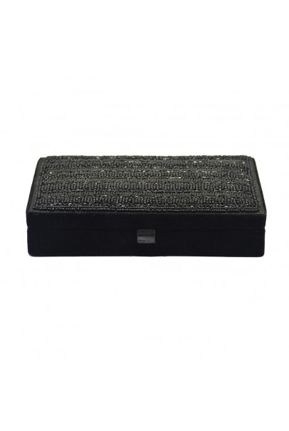 Black Beaded Box