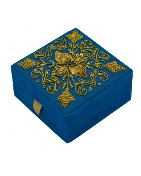 Flowers Beaded Box