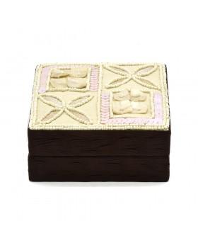 Shell/ Beaded Jewelry Box