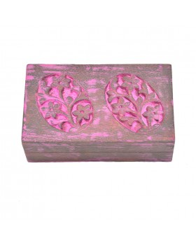Pink Rectangle Box