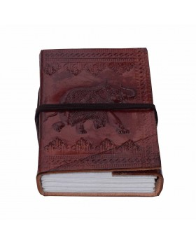 Indian Elephant Leather Journal