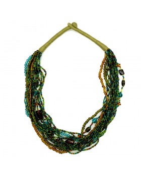 Layered Patwa Necklace