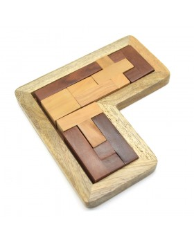 Pentameno L Shape Wood Game