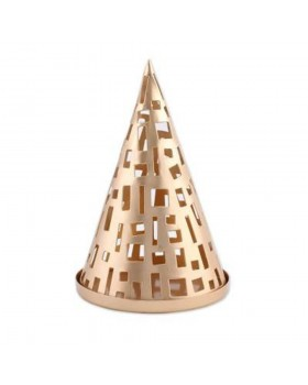 Glowing Cone Tea Light Holder