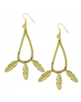 Leaves Drop Earrings