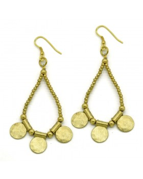 Coins Drop Earrings
