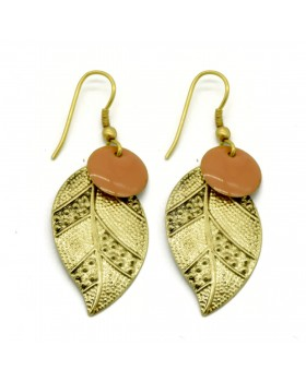 Leaves Earrings-Gold