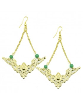 Jali Dangle Earrings
