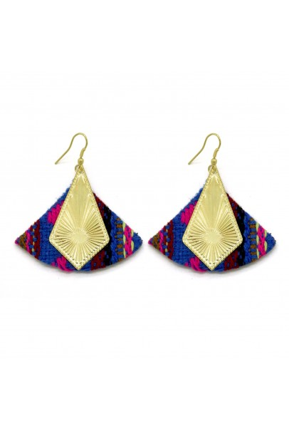 Cotton Sunrise Earrings