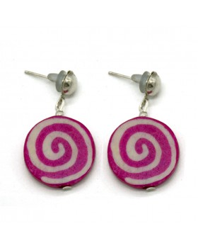 Hypnotic Bone Earrings