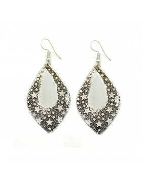 Starry Silver Earrings