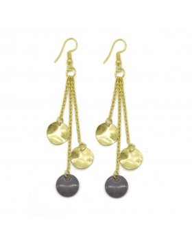 Coin Hanging Earrings