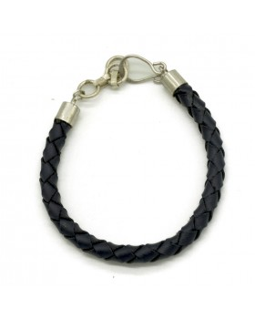 Sleek Men Bracelet-Black.main