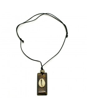 Bone Shell Men Necklace