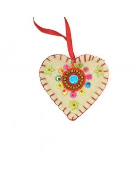 Heart Christmas Ornament