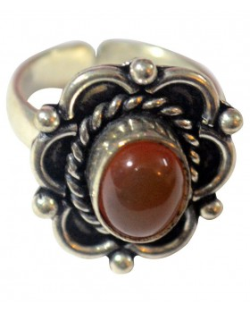 Agate Eye Ring