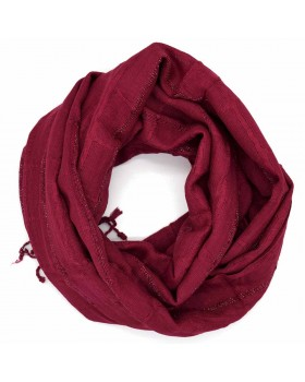 Red Plain Viscose Scarf