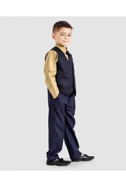 Three Piece Party Suit With Tie