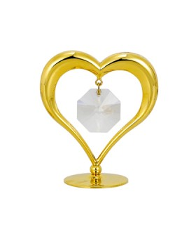 24K GOLD PLATED HEART