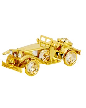 24K GOLD PLATED VINTAGE CAR