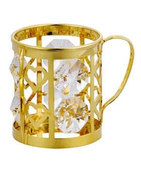 24K GOLD PLATED BEER MUG