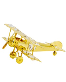 24K gold PLATED AEROPLANE