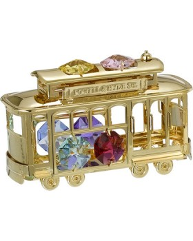 24K GOLD PLATED CABLE CAR